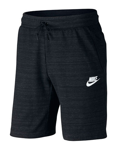 Nike Knit Advance 15 Shorts-BLACK-Small