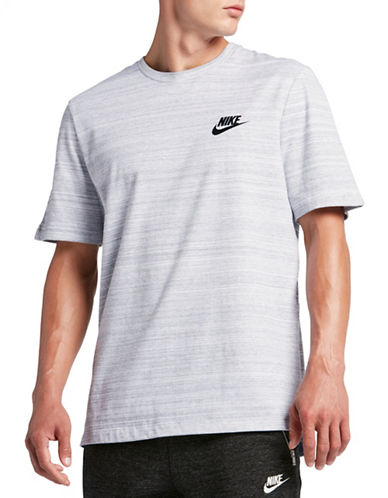Nike Advance 15 T-Shirt-WHITE-X-Large