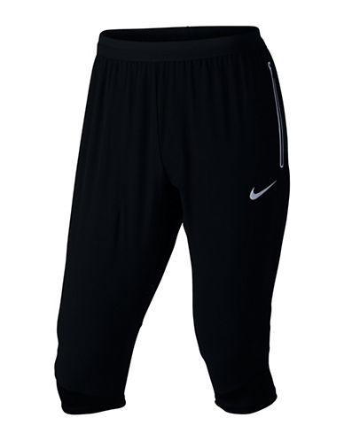 Nike Flex Swift Running Three-Quarter Pants-BLACK-Large 89407523_BLACK_Large