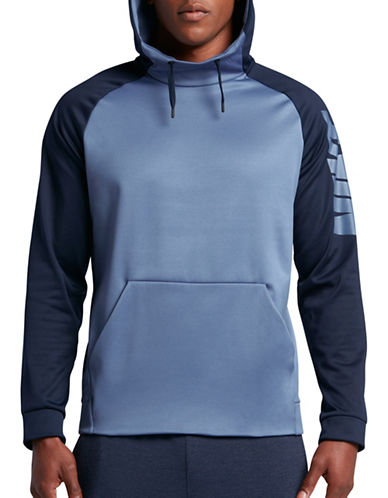 Nike Therma Training Hoodie-BLUE-X-Large 88856237_BLUE_X-Large