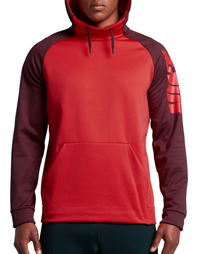 Nike Therma Training Hoodie-RED-Small 89087405_RED_Small