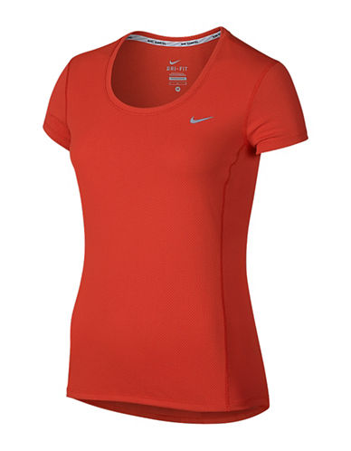 Nike Dri-FIT Contour Tee-RED-Small 88547862_RED_Small