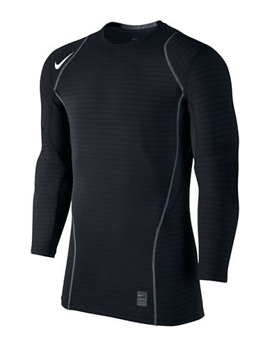 Nike Pro Warm Top-BLACK-Small 88925522_BLACK_Small