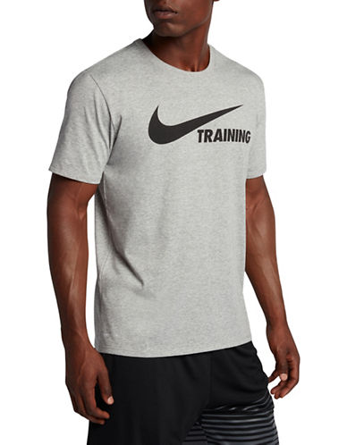 Nike Swoosh Training Tee-GREY-Small 89690572_GREY_Small