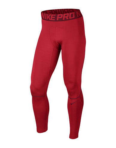 Nike Pro Hyperwarm Tights-RED-Medium 88925548_RED_Medium