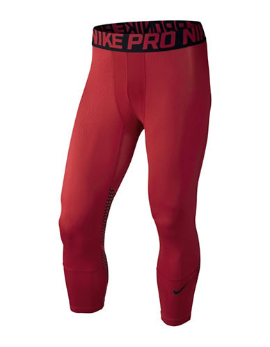 Nike Hypercool Three-Quarter Tights-GYM RED-Large 88501629_GYM RED_Large