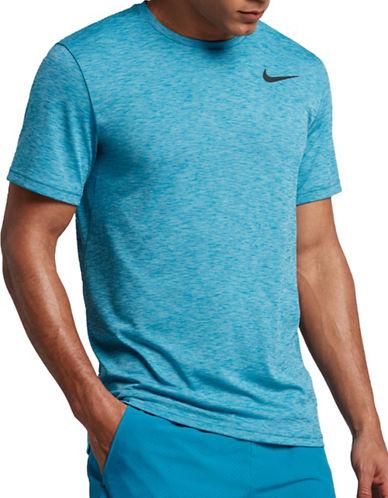 Nike Breathe Training Tee-BLUE-Medium 89157249_BLUE_Medium