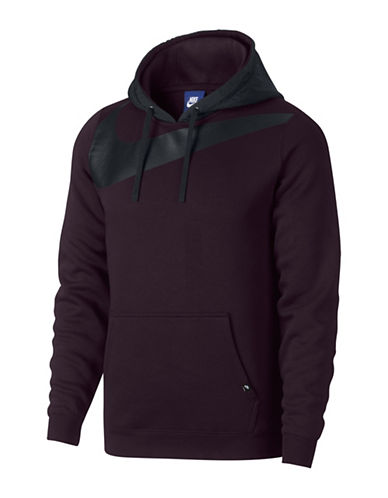 Nike Fleece Hybrid Hoodie-RED-Large 89690815_RED_Large