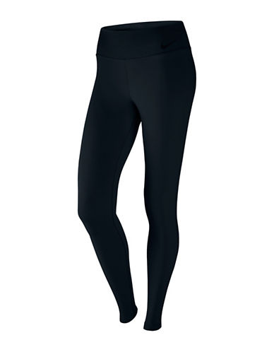 Nike Legendary Mid-Rise Jersey Tights-BLACK-X-Large