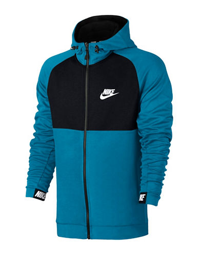 Nike Sportswear Advance Hoodie-BLUE-Small 89710076_BLUE_Small