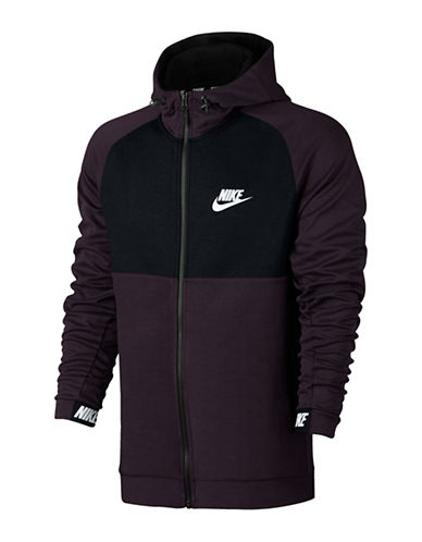 Nike Long Sleeve Fleece Hoodie-BLACK-X-Large 89692817_BLACK_X-Large