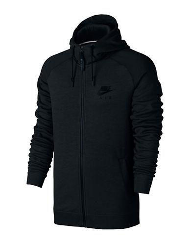 Nike Sportswear Textured Hoodie-BLACK-XX-Large 88798126_BLACK_XX-Large