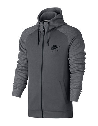 Nike Sportswear Graphic Hoodie-CARBON HEATHER-Small 88798127_CARBON HEATHER_Small