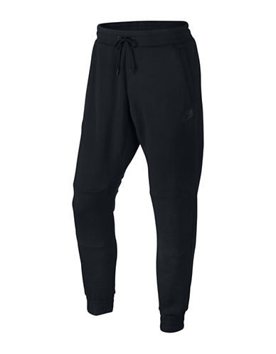 Nike Sportswear Knee Patch Joggers-BLACK-Small 88501697_BLACK_Small
