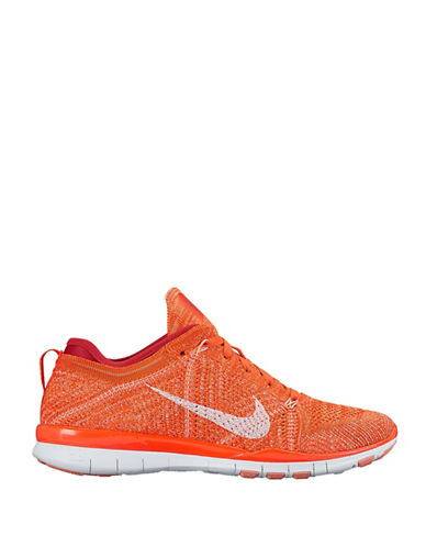 Nike Free Training Fly Knit Sneakers-ORANGE-7 88100040_ORANGE_7