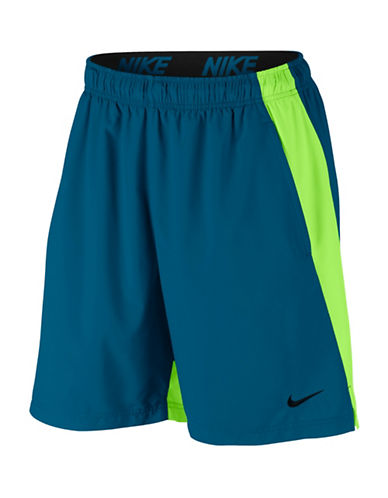 Nike Flex Training Shorts-BLUE-Large 89157722_BLUE_Large