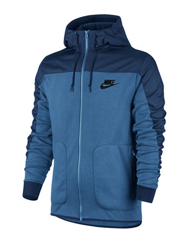 Nike Sportswear Advance 15 Hoodie-BLUE-Small 88834365_BLUE_Small