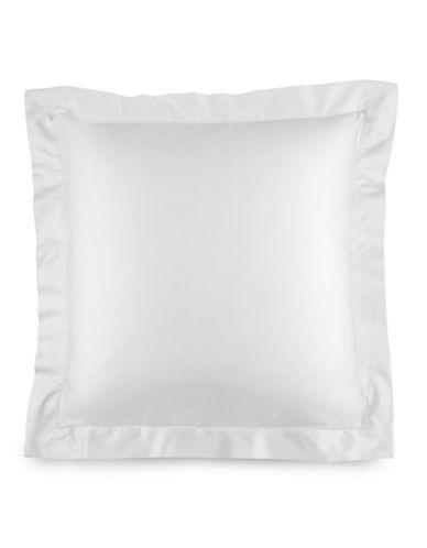 Ralph Lauren 624 Thread-Count Cotton Sateen Euro Sham-DECO WHITE-European