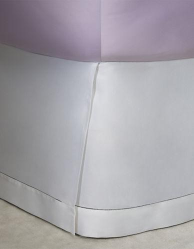 Ralph Lauren 624 Thread-Count Cotton Sateen Bedskirt-DECO WHITE-King