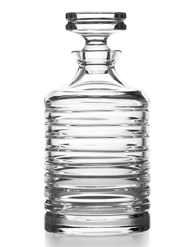 Ralph Lauren Metropolis Crystal Decanter-CLEAR-One Size