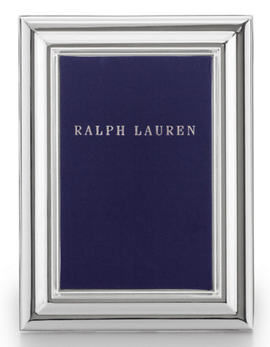 Ralph Lauren Ogee Frame 4x6-SILVER-One Size