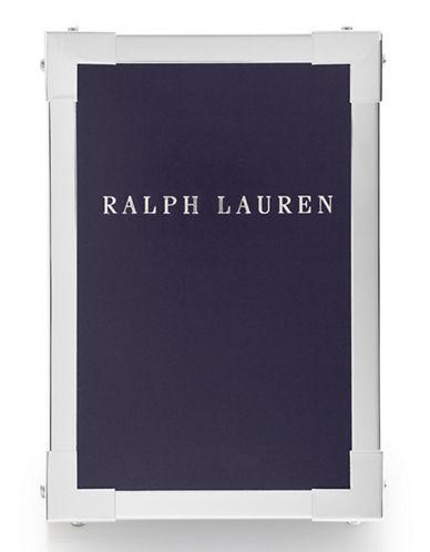 Ralph Lauren Holden Frame 4x6-SILVER-One Size