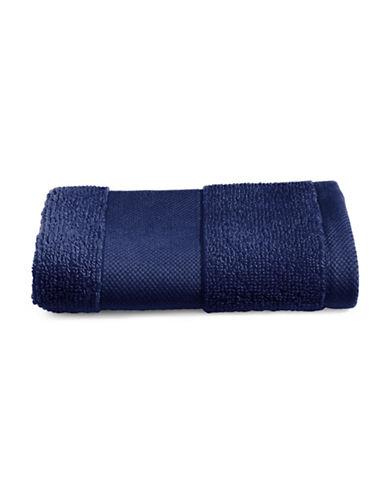 Lauren Ralph Lauren Wescott Cotton Washcloth-CLUB NAVY-Washcloth