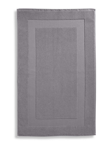 Lauren Ralph Lauren Wescott Cotton Tub Mat-CAPE GRAY-Bath Mat