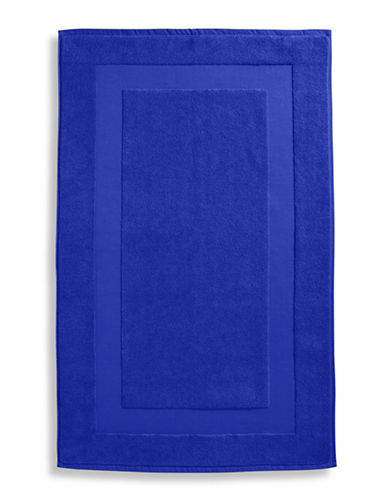 Lauren Ralph Lauren Wescott Cotton Tub Mat-ADMIRAL BLUE-Bath Mat