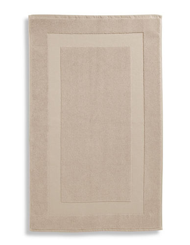 Lauren Ralph Lauren Wescott Cotton Tub Mat-WEATHERED STONE-Bath Mat