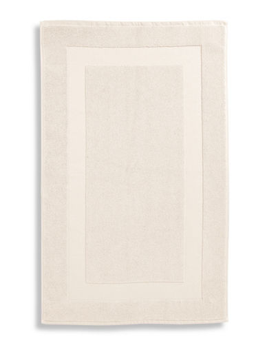 Lauren Ralph Lauren Wescott Cotton Tub Mat-LINEN CREAM-Bath Mat