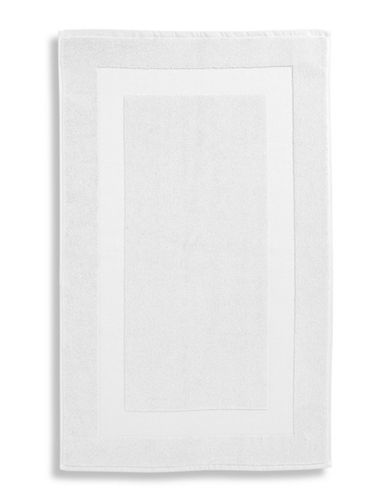 Lauren Ralph Lauren Wescott Cotton Tub Mat-SAILCLOTH WHITE-Bath Mat