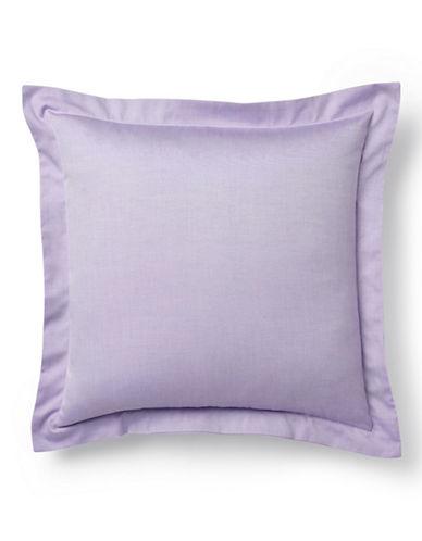 Ralph Lauren Luxury Oxford Decorative Pillow-LAVENDER-One Size
