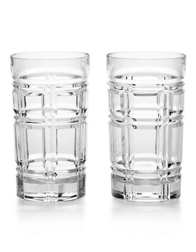 Ralph Lauren Two-Piece Greenwich Highball Glass Set-CLEAR-One Size