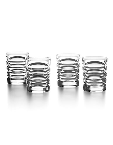 Ralph Lauren Four-Piece Metropolis Shot Glass Set-CLEAR-One Size