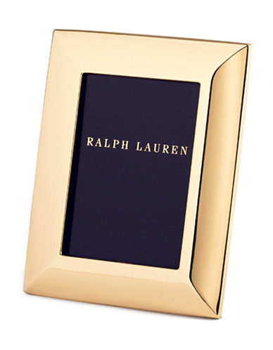 Ralph Lauren Beckbury 8x10 Frame-GOLD-One Size