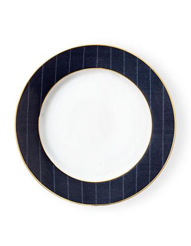 Ralph Lauren Ascot Dinner Plate-NAVY/GOLD-One Size