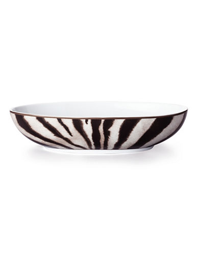 Ralph Lauren Kendall Oval Serving Bowl-BLACK-Medium