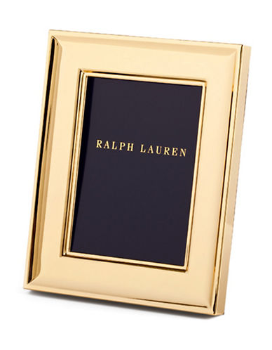 Ralph Lauren Cove 5x7 Frame-GOLD-One Size