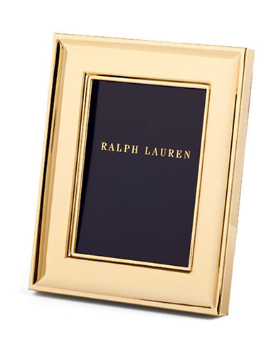 Ralph Lauren Cove 8x10 Frame-GOLD-One Size