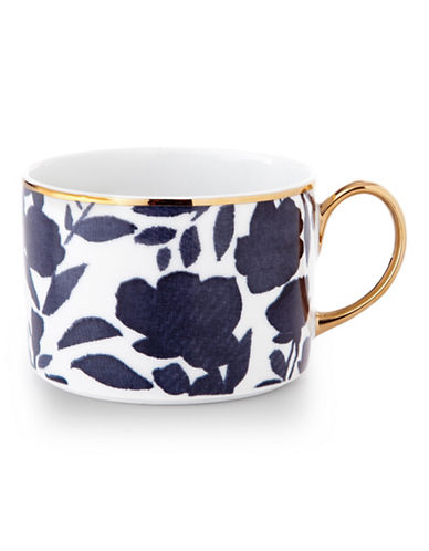 Ralph Lauren Audrey Teacup and Saucer Set-NAVY-One Size