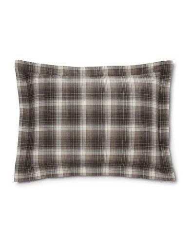 Ralph Lauren Jackson 200 Thread-Count Pillow Sham-MULTI-Standard