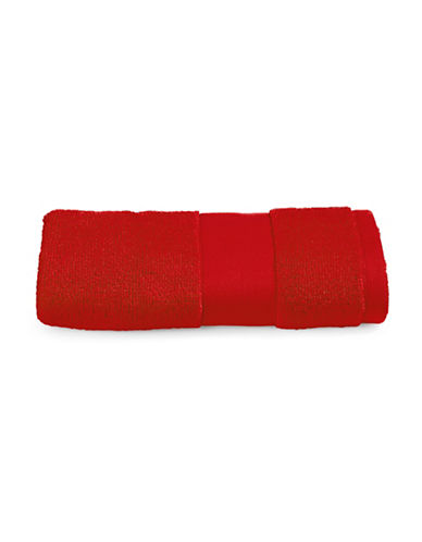 Lauren Ralph Lauren Wescott Cotton Hand Towel-DARK RED-Hand Towel