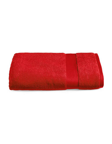 Lauren Ralph Lauren Wescott Cotton Bath Sheet-DARK RED-Bath Sheet