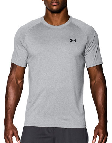 Under Armour UA Tech T-Shirt-TRUE GREY-Medium