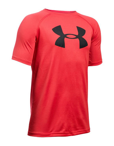 Under Armour Tech Big Logo Tee-RED-Large 86031723_RED_Large