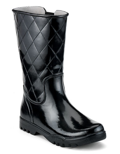 Sperry Nellie Rain Boot-BLACK-9