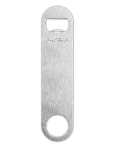 Final Touch Bottle Opener-SILVER-One Size