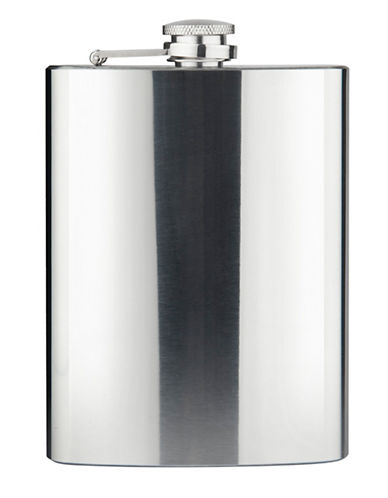 Final Touch 8-Oz. Flask-SILVER-One Size