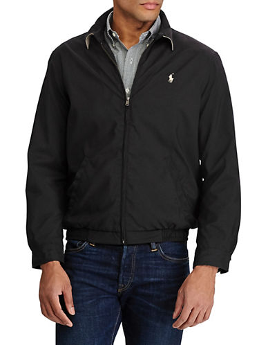 Polo Ralph Lauren Bi Swing Microfiber Windbreaker-RL BLACK-Medium